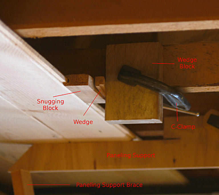 One Person Installation Of Ceiling Paneling